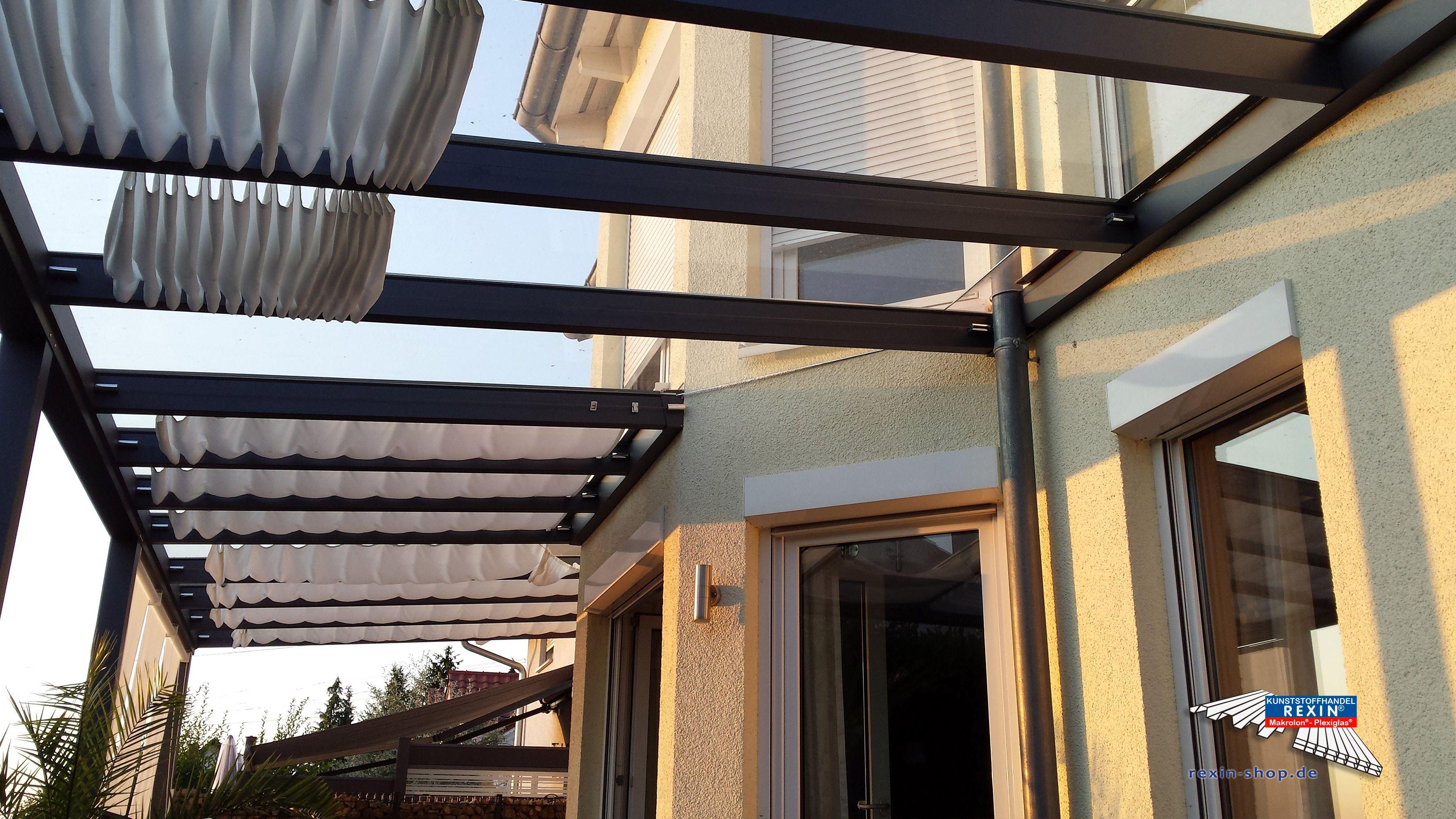 Alu Terrassendach Der Marke Rexopremium 10m X 4m In
