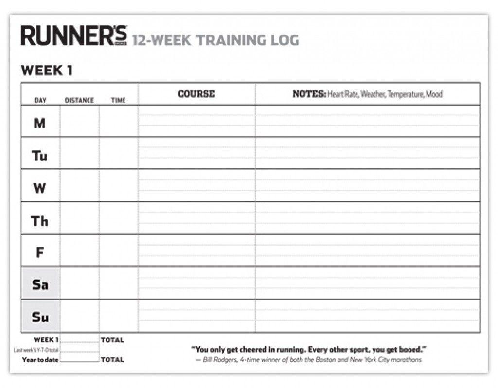 12 Week Blank Printable Calendar For Running Blank Calendar
