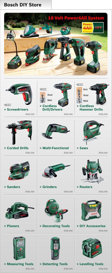 Diy Tool List Bosch Tools Electrical Tools Diy Tools