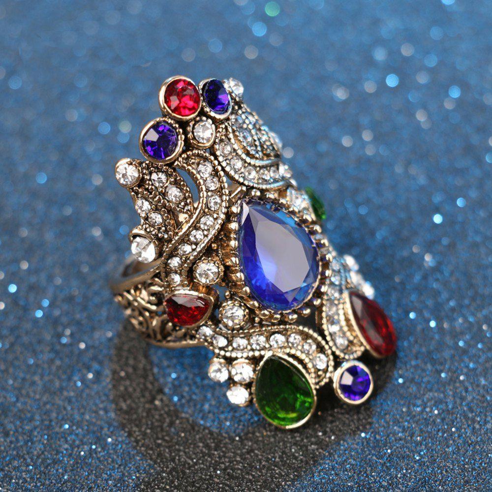 Bohemian Sapphire Vintage Diamond Ring Ad , spon,