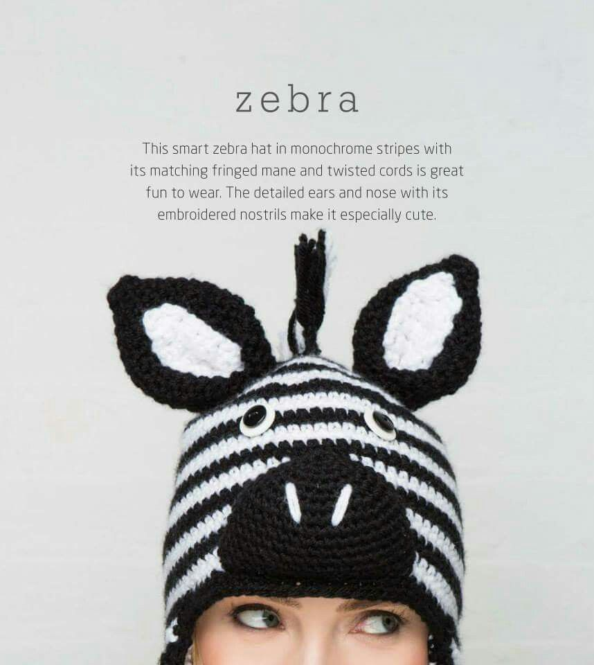 Pin de Luz en crochet | Pinterest | Cebras