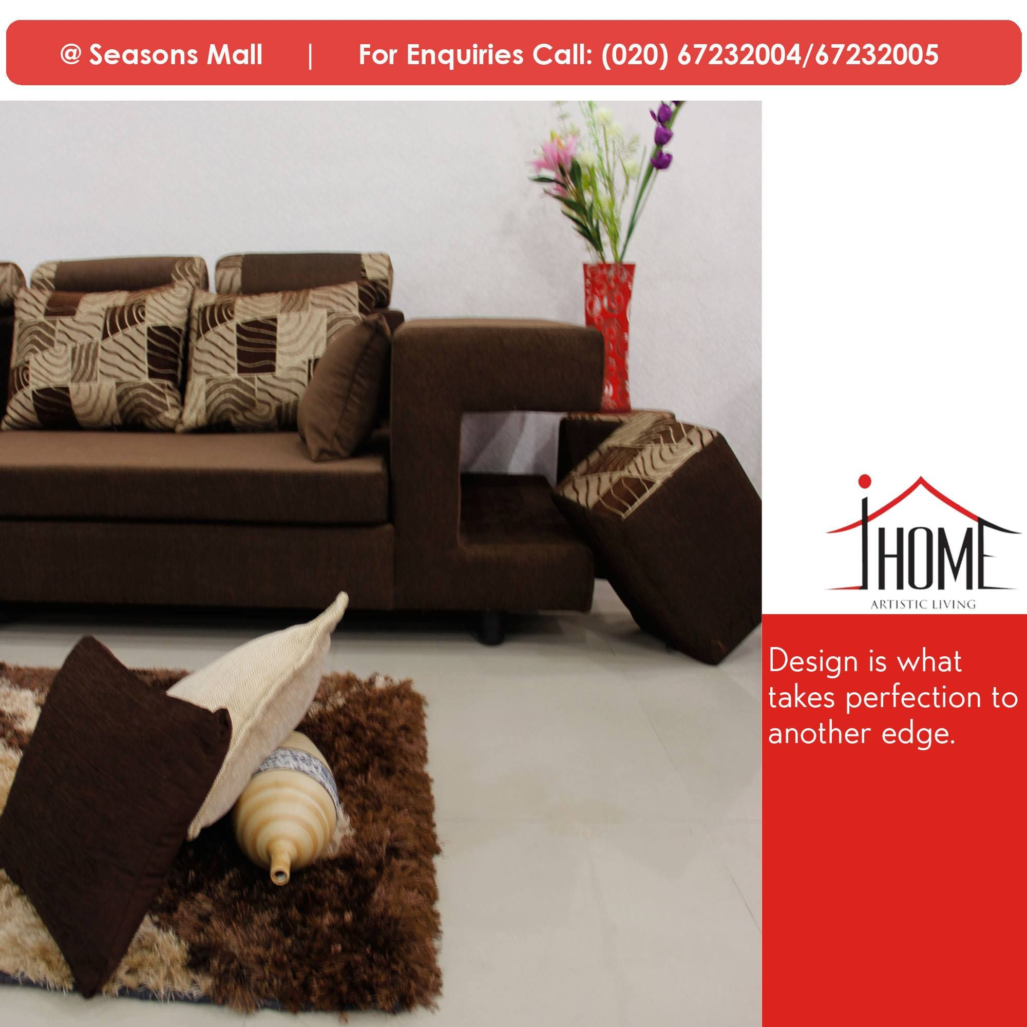 Custom Sofa Makers Ihomefurniture Has Always Something To Add For Comfort Living In An Artistic Way Sectional Sofaset Seasons Mall Pune Maharashtra