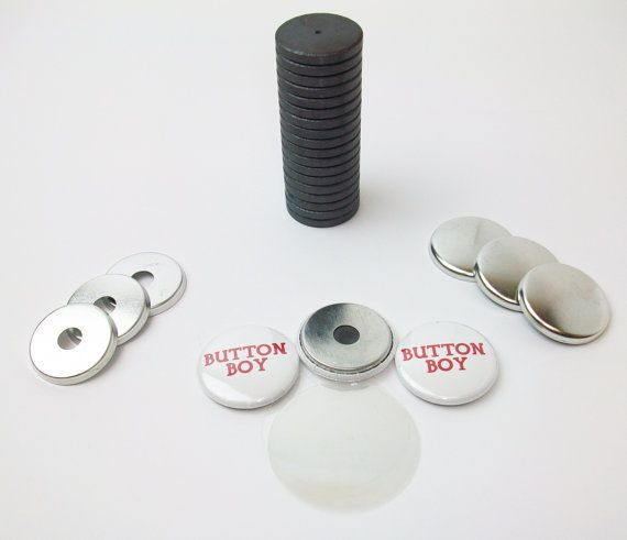 1 Metal Flat Back W Hole And W Just Right Fit Ceramic Magnets 100pcs Making Buttons Metal Ceramics Magnets
