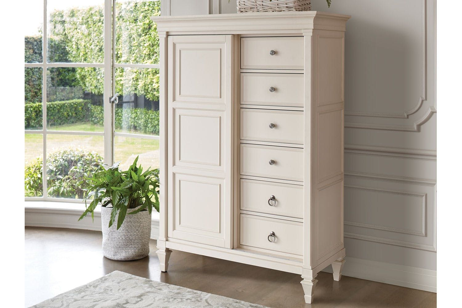 Ashby Chest With Sliding Door By Garry Masters Harvey Norman New Zealand Country Style Bedroom Bedroom Furniture Tall Cabinet Storage