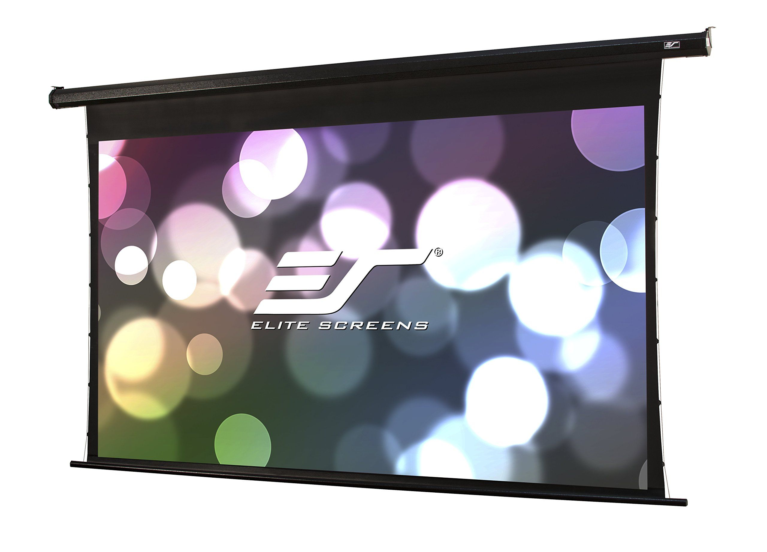 Elite Screens Spectrum Tab Tension 125 Inch 16 9 4k Tensioned Electric Motorized Projection Project Projector Screen Projection Screen Movie Projector Screen