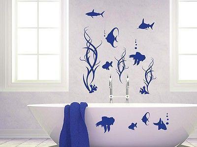 Badezimmer Wandtattoo ~ Details zu wandtattoo wandaufkleber set tattoo für badezimmer