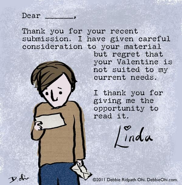 Valentines Day Rejection