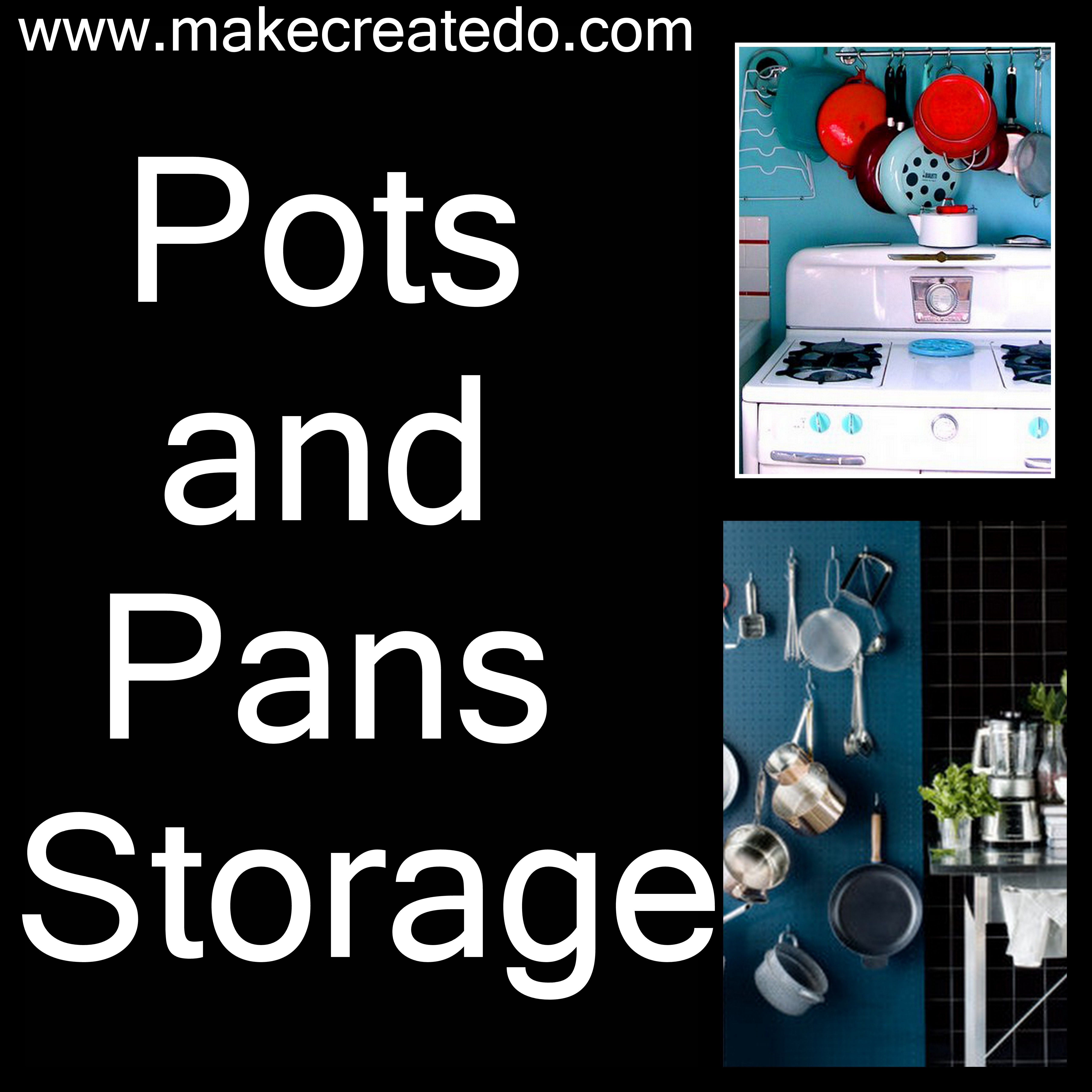 Repurposed pallet ideas pots and pans organizing and storage ideas