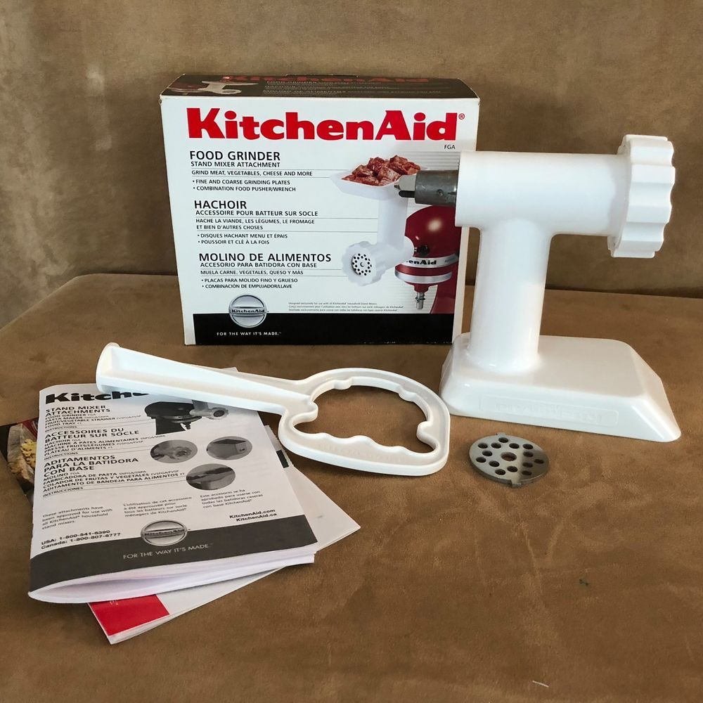 Best Kitchen Aid Food Grinder Mixer Attachment Model Fga Usa 400 x 300