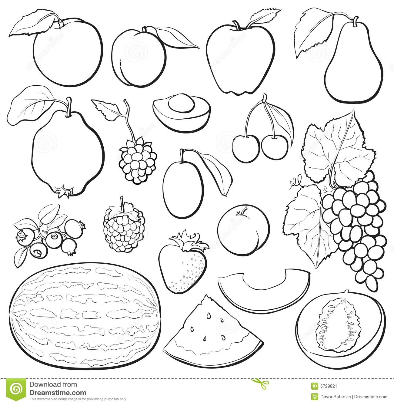 Clip Art Black And White Fruit Of The Spirit