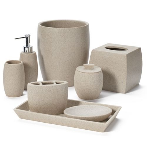 Home Classics Bath Coordinates At Kohlu0027s   These Home Classics Bath  Accessories Feature A Stoneware Design And Durable Resin Construction.