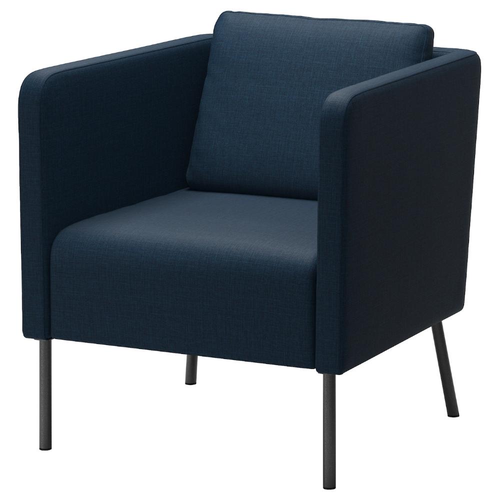 EKERÖ Armchair Skiftebo dark blue in 2020 Ikea