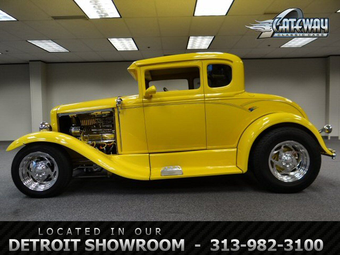 1930 Ford 5 Window Coupe Stock 10 Det Model A Ford