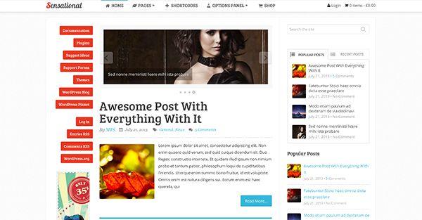 Sensational MyThemeShop Wordpress theme free download - http ...
