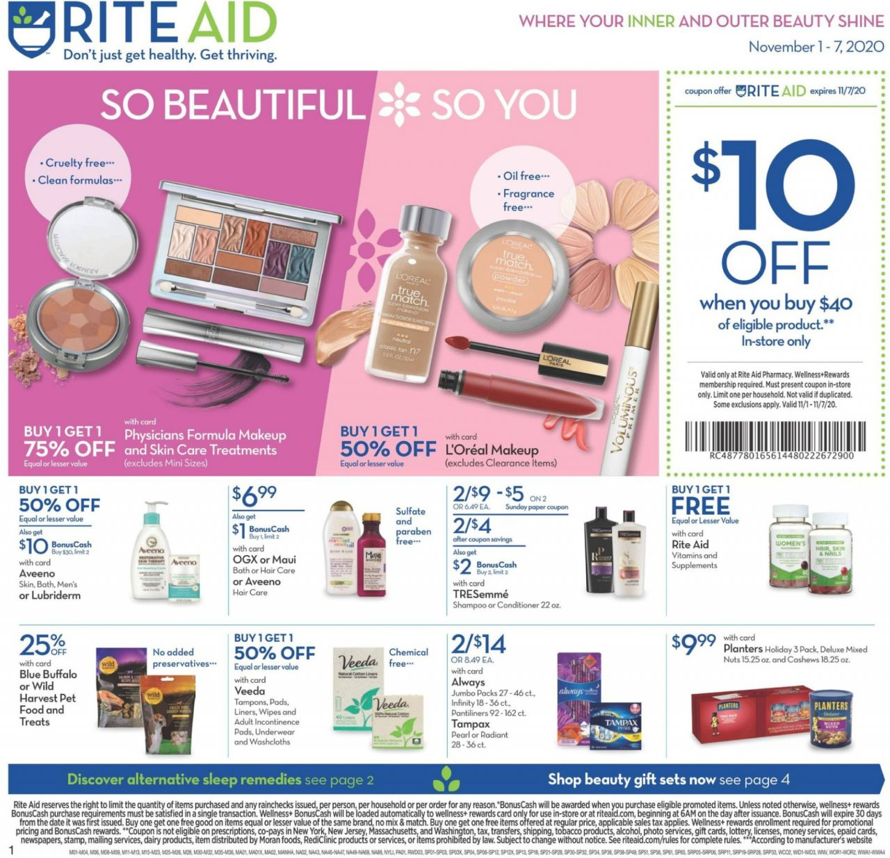 Rite Aid Flyer Pharmacy Rite Aid Weekly Ads Beauty Coupons