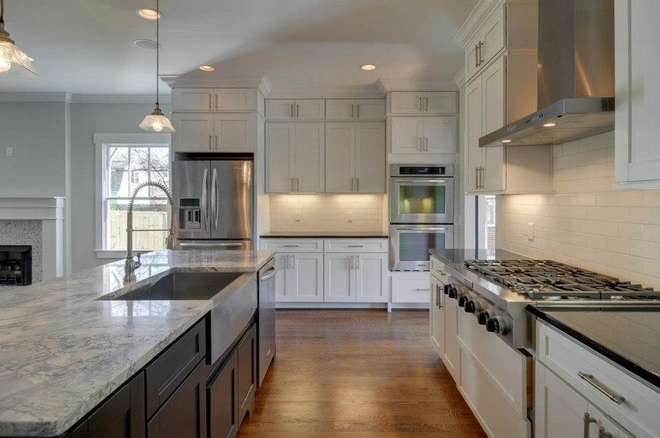Society Shaker Kitchen Cabinets. Perfect for a beach house ...