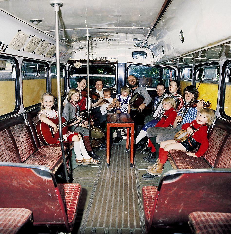 Im Bus Mit Der Kelly Family Kelly Family Paddy Kelly Angelo Kelly