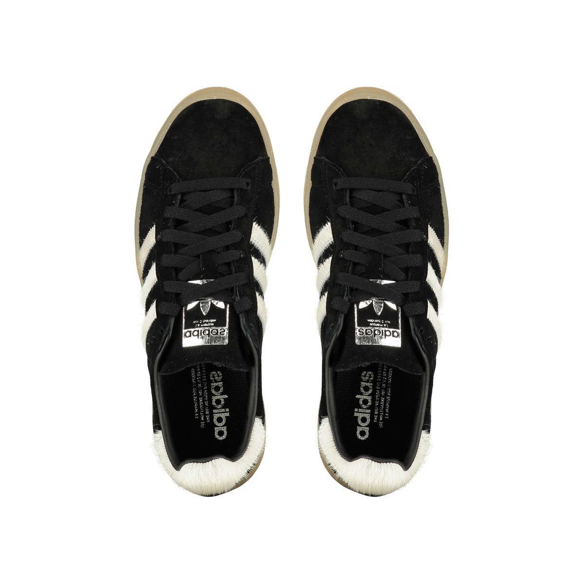 adidas campus noir et blanc femme