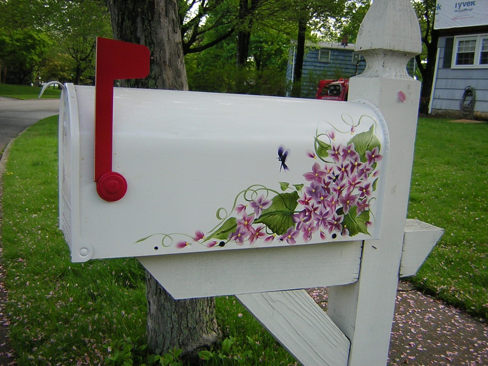 1000 Images About Hand Painted Mailbo On Pinterest