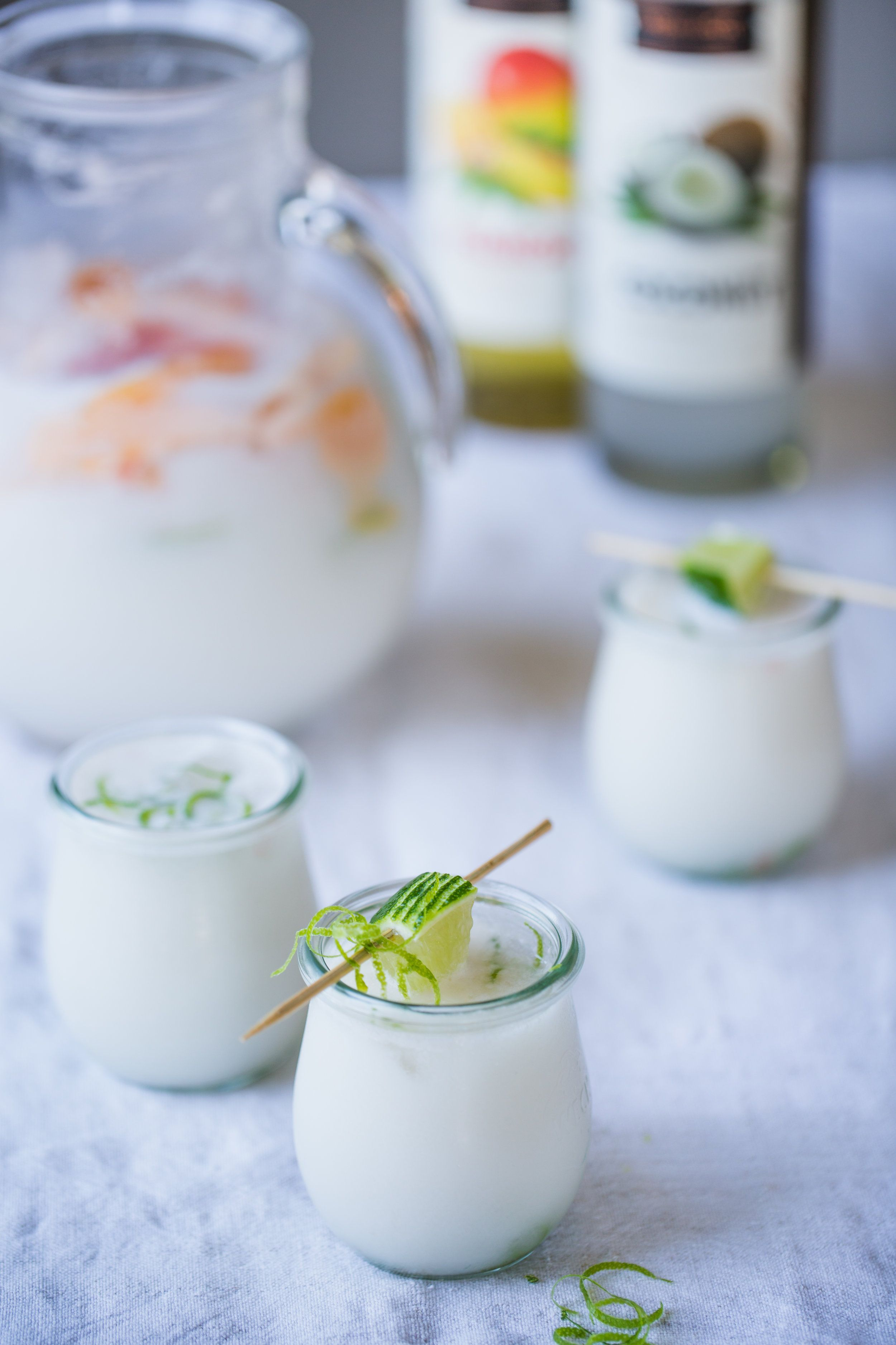 Creamy Coconut & Vodka Punch #vodkapunch Creamy Coconut & Vodka Punch — Rustic. Joyful. Food. #vodkapunch