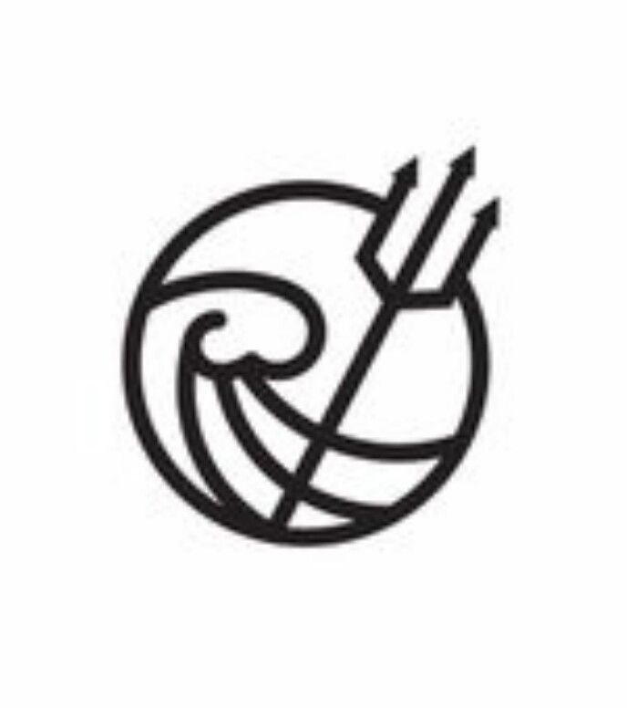 Poseidon symbol trident Percy Jackson necklace  |Poseidon Percy Jackson Symbol