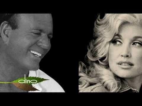 JULIO IGLESIAS & DOLLY PARTON - WHEN YOU TELL ME THAT YOU LOVE ME (Lyrics) - YouTube