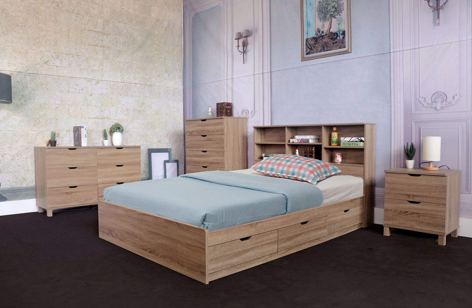 Id Usa Furniture Distributor Y1402f Full Size Chest Bed Features 3 Drawers On Metal Glides Y1401f Best Bed Designs Unique Bed Design Bedroom Furniture Beds