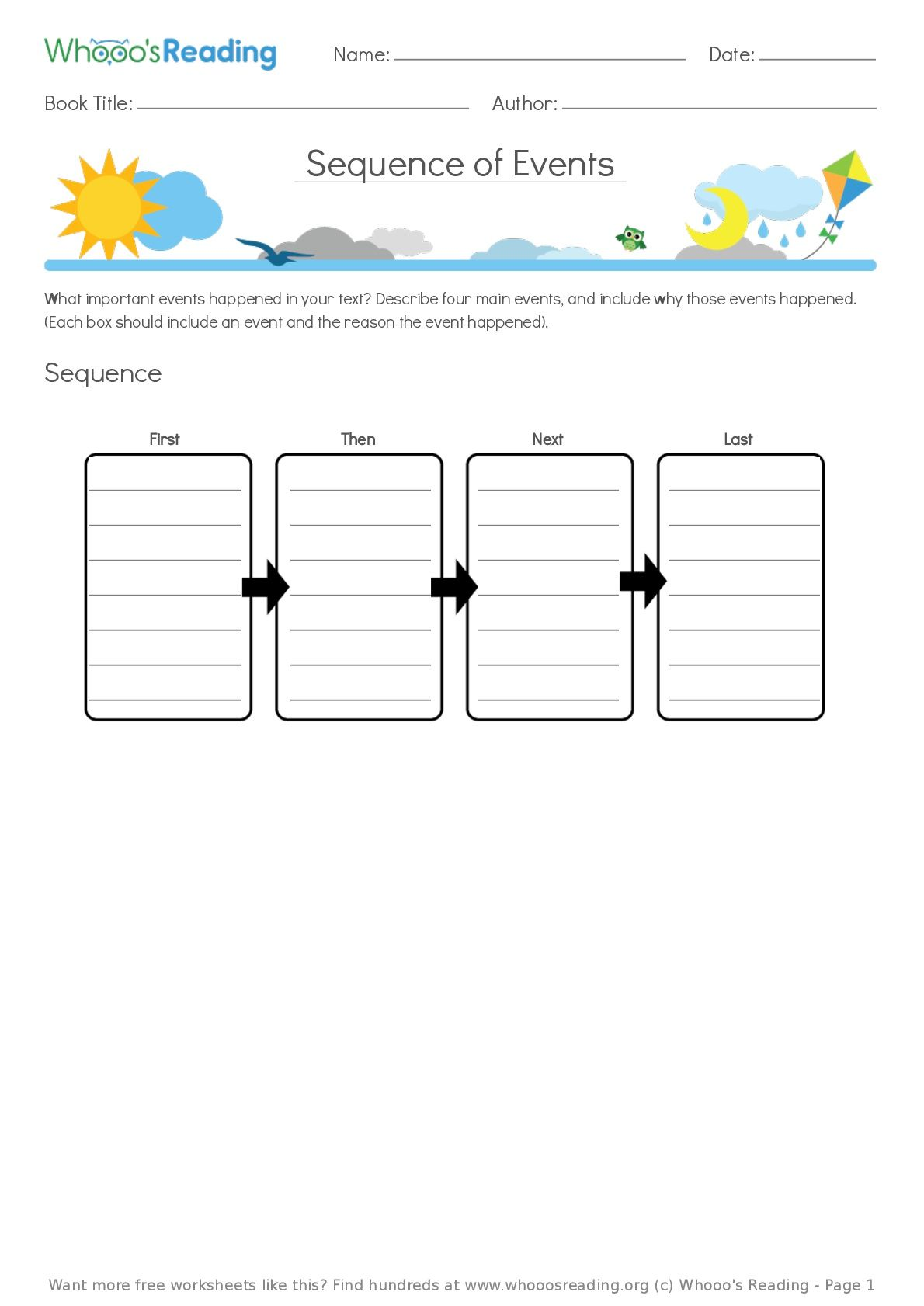 Pin On Free Literacy Worksheets