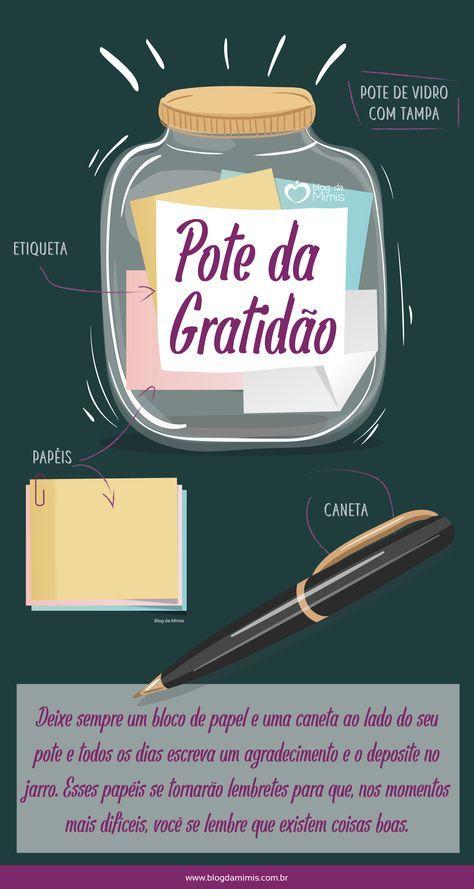Pote Da Gratidão O Que é E Como Fazer Gratidão Pinterest