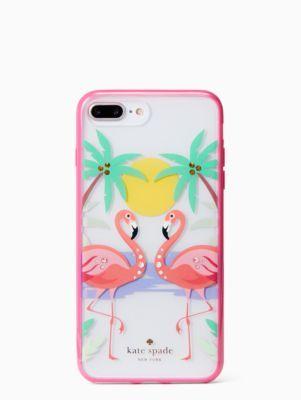 newest 73616 54e9b I really like this. jeweled flamingos iPhone 7 & 8 plus case | Kate ...