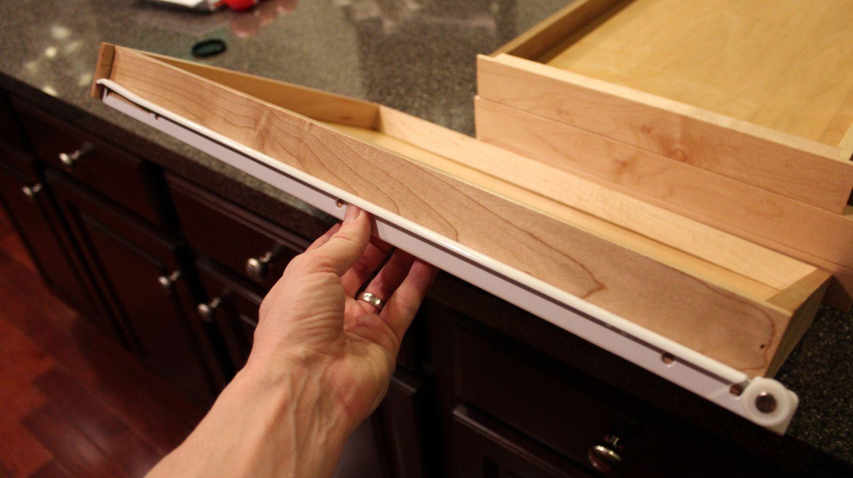 50+ Kitchen Cabinet Drawer Slides Hardware - Kitchen Remodeling ...