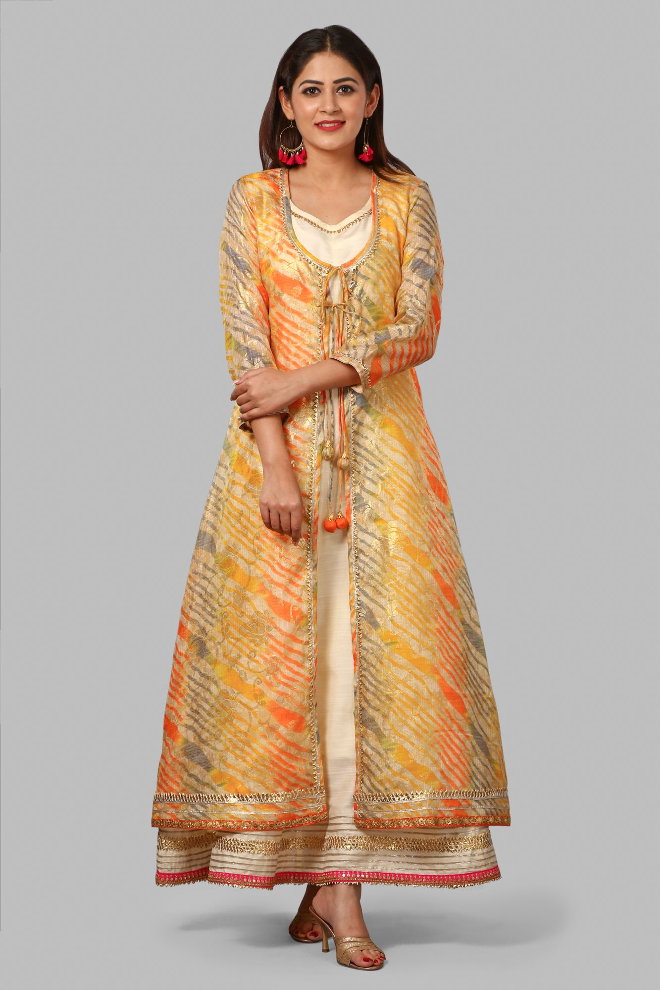 d2c42b7faa Dress up this festive season with something which reflects your  attitude..,something that is YOU....Dress up in this vibrantly different  kalidaar ...