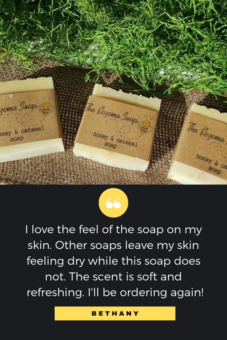 Pin by The Eczema Soap on Honey Eczema Soap Sensitive