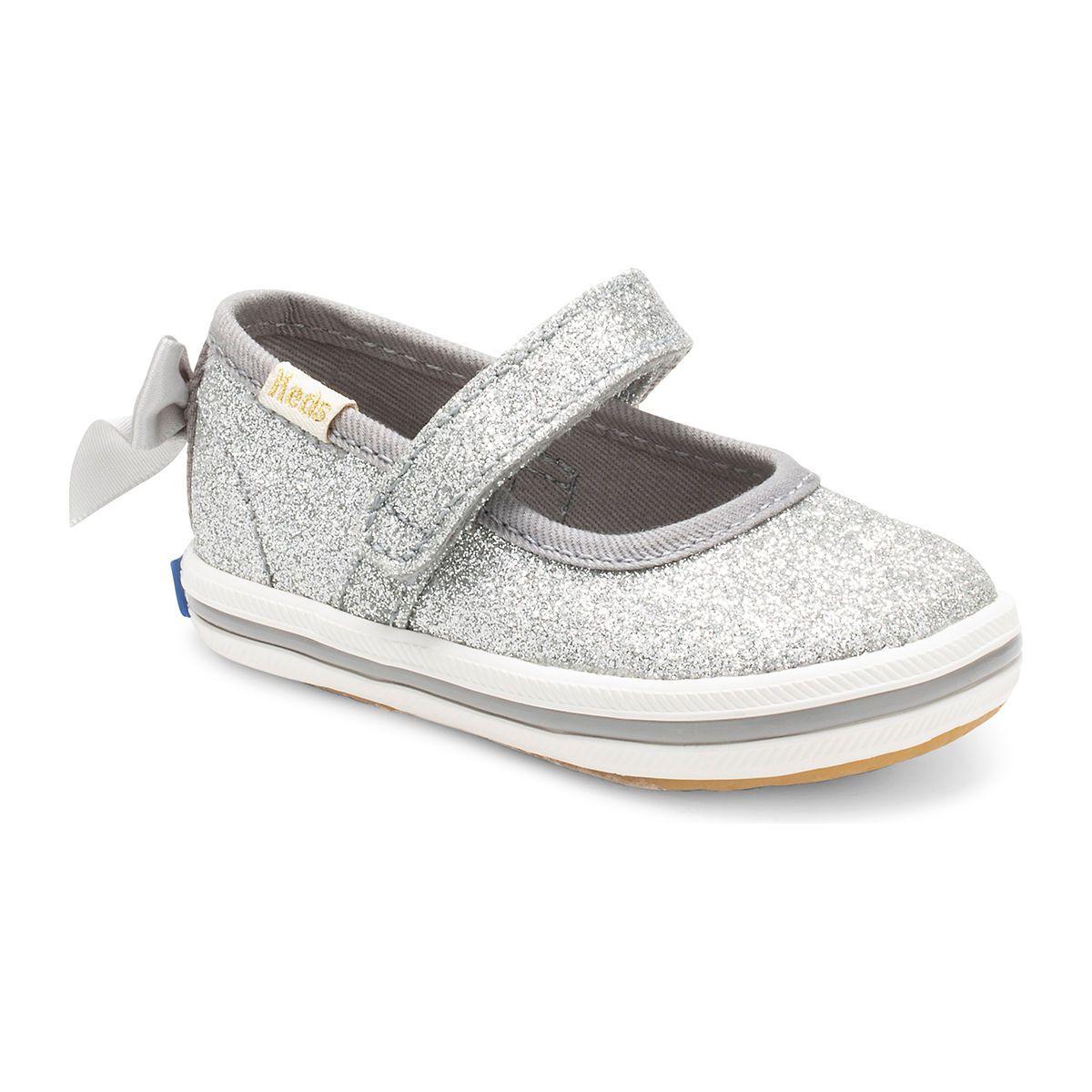 Infant Keds Bow-Lovely Crib Mary Jane Sneaker