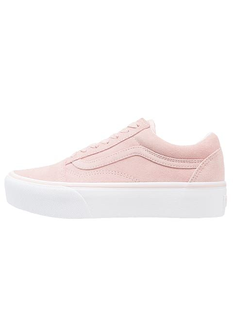 OLD SKOOL PLATFORM - Sneakers laag - sepia rose/true white @ Zalando.nl  <div class=
