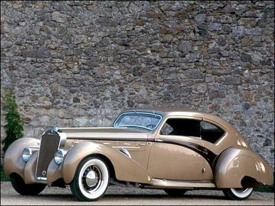 Legendary Vintage Cars - for the collectors...Delahaye 135 MS