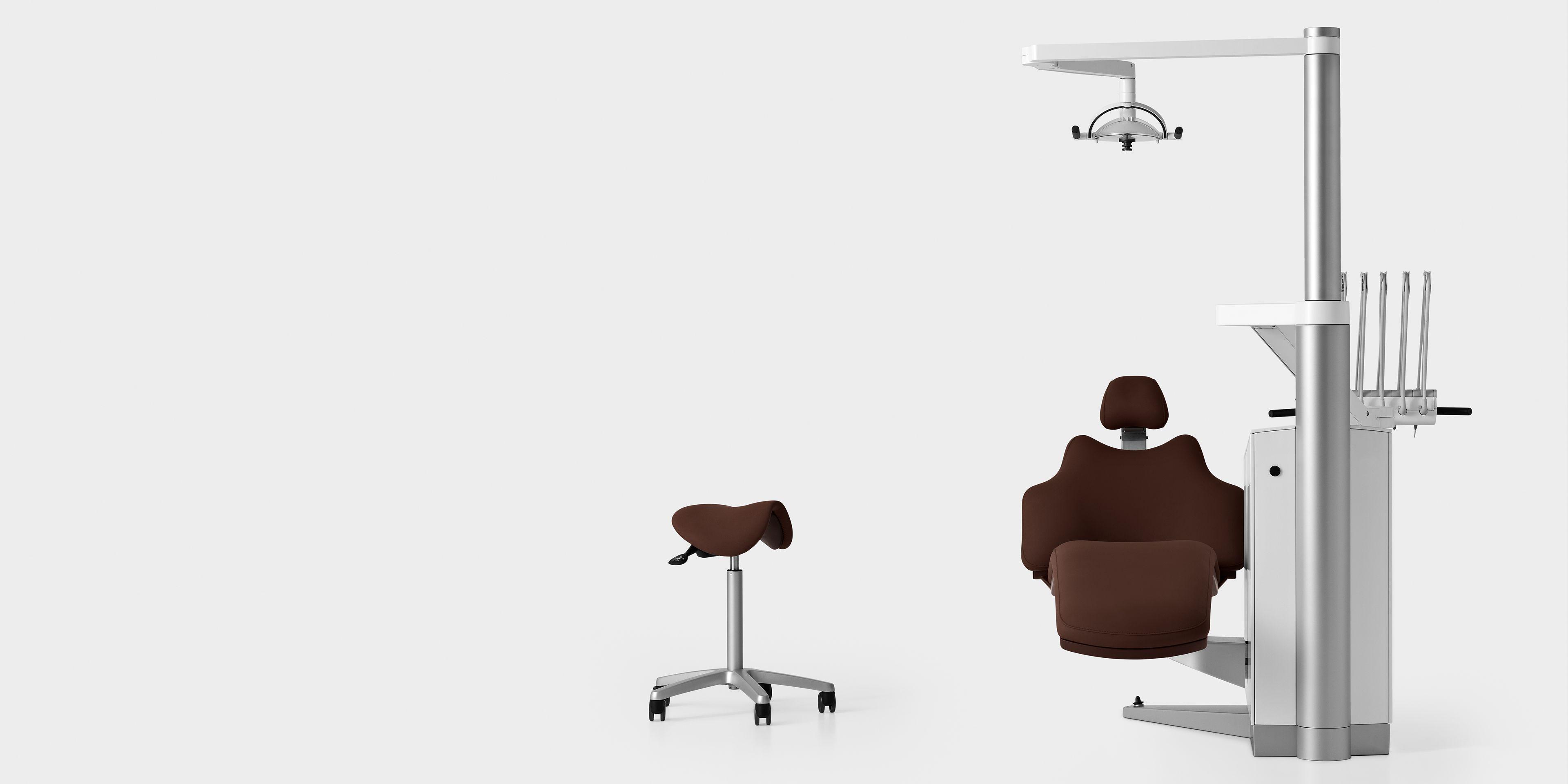 XO FLEX brown dental chair and seat Adirondack chair