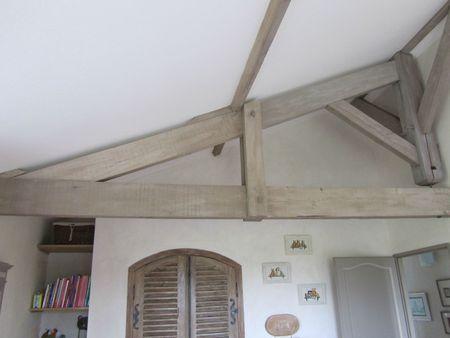 Choix de la couleur pour poutres en bois forum d co poutres pinterest poutres en bois for Poutres peintes