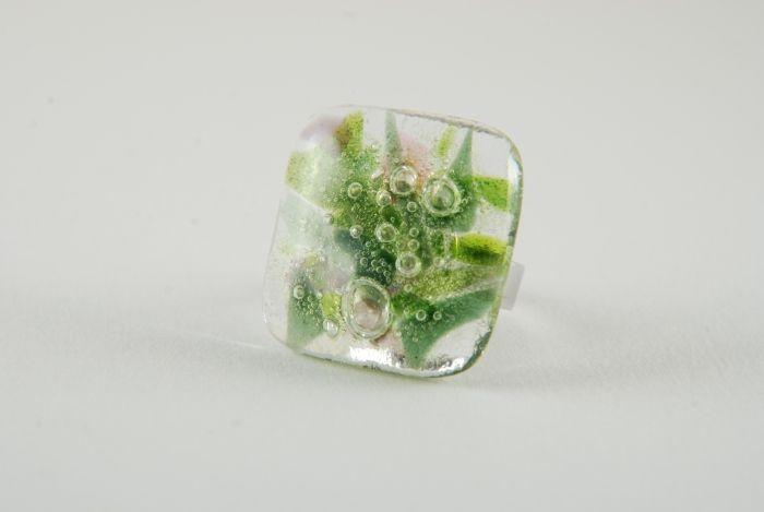PannaKotta: Nagy tavaszbuborékos gyűrű / Large spring bubble ring