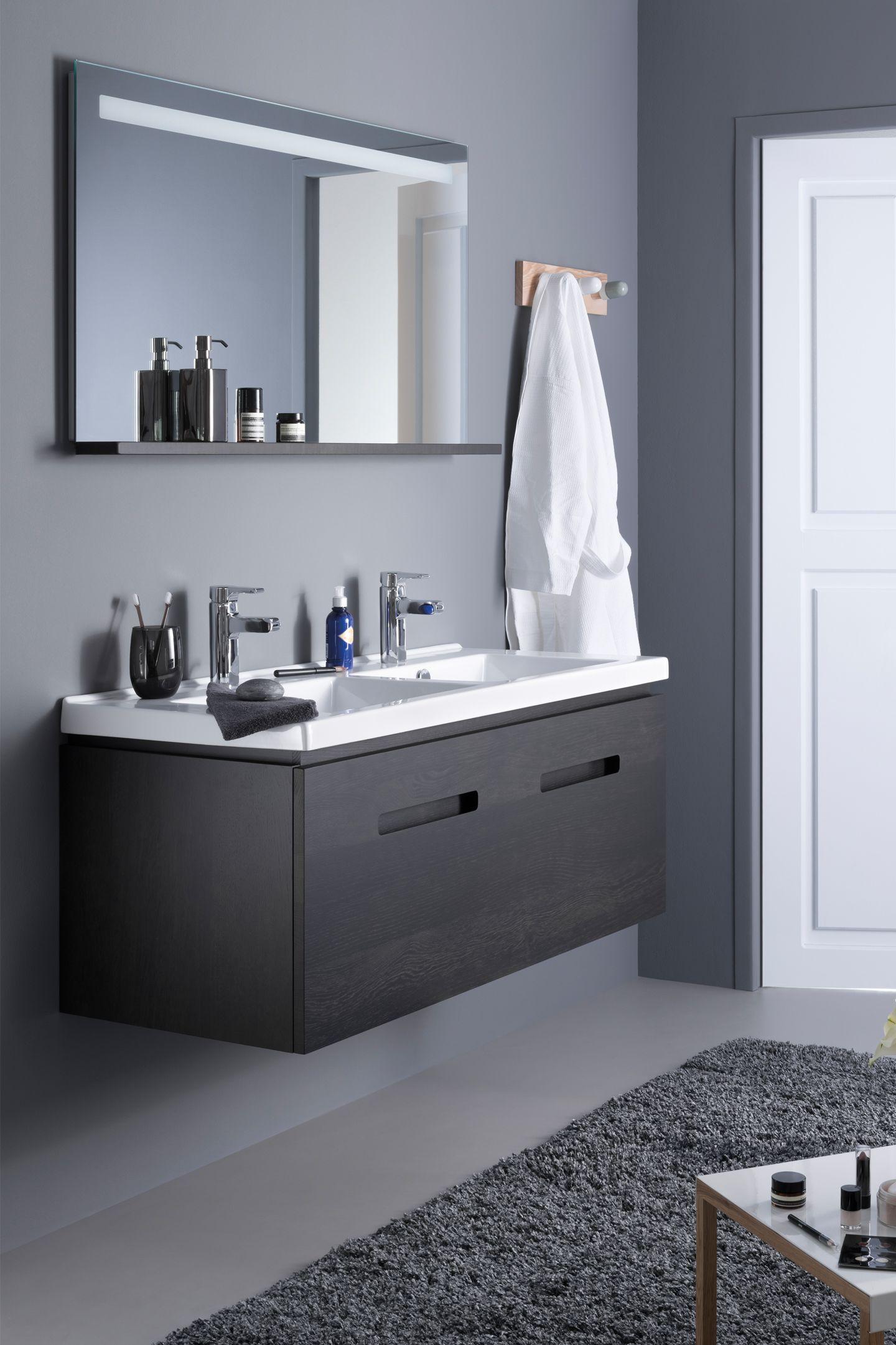 Sanijura Essentiel Bathroom Grey Gris Salledebain Deco Meuble Meuble De Salle De Bain Mobilier De Salon Salle De Bain
