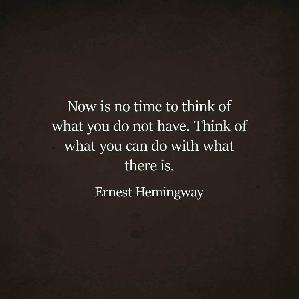12 Quotes by the Amazing Ernest Hemingway that will enrich ...