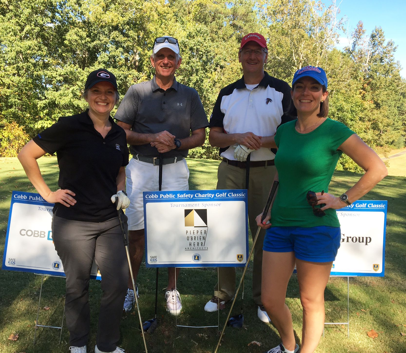 For The Third Year In A Row Poh Participated In The Annual Cobb County Public Safety Charity Golf Classic At Brookstone Golf Golf Country Clubs Kids Safe Kids