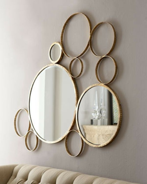 Le grand miroir mural 25 id es pour d 39 arrangement et for Grand miroir solde