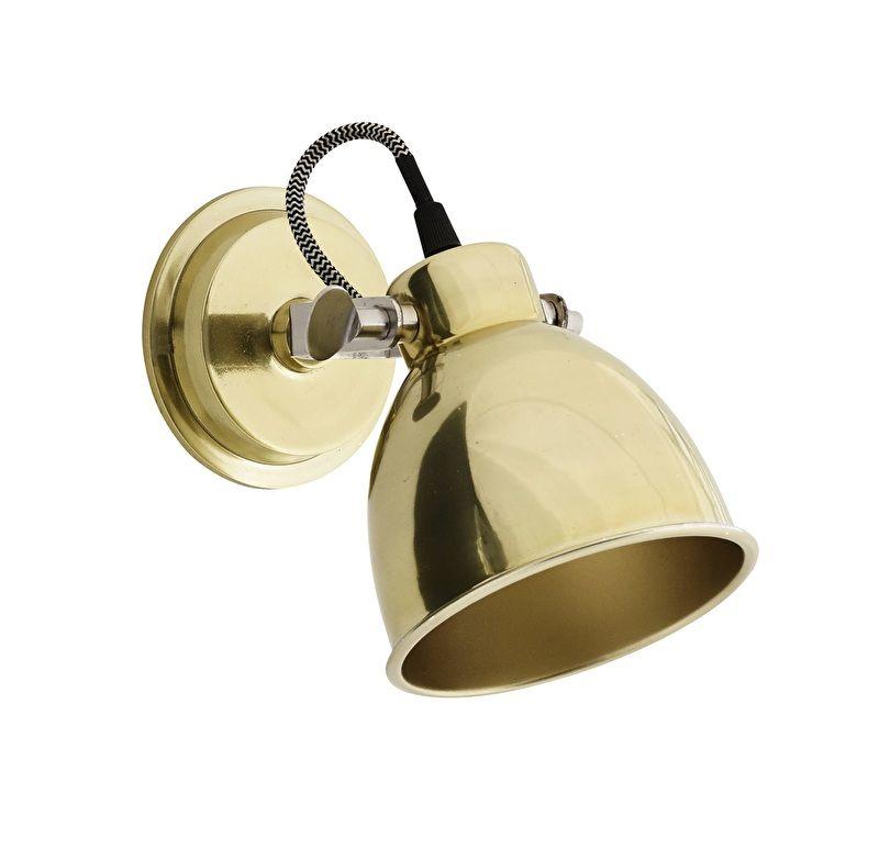 Bronze wall lamp