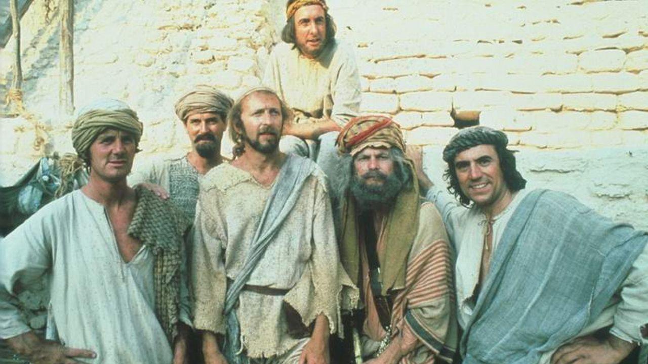 Michael Palin John Cleese Graham Chapman Eric Idle Terry Gilliam