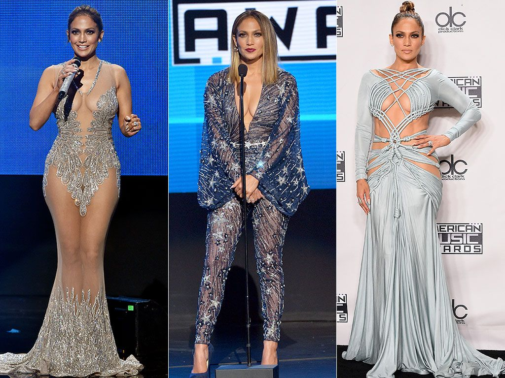 AMAs 2015: Jennifer Lopez Changes 10 (!) Times While