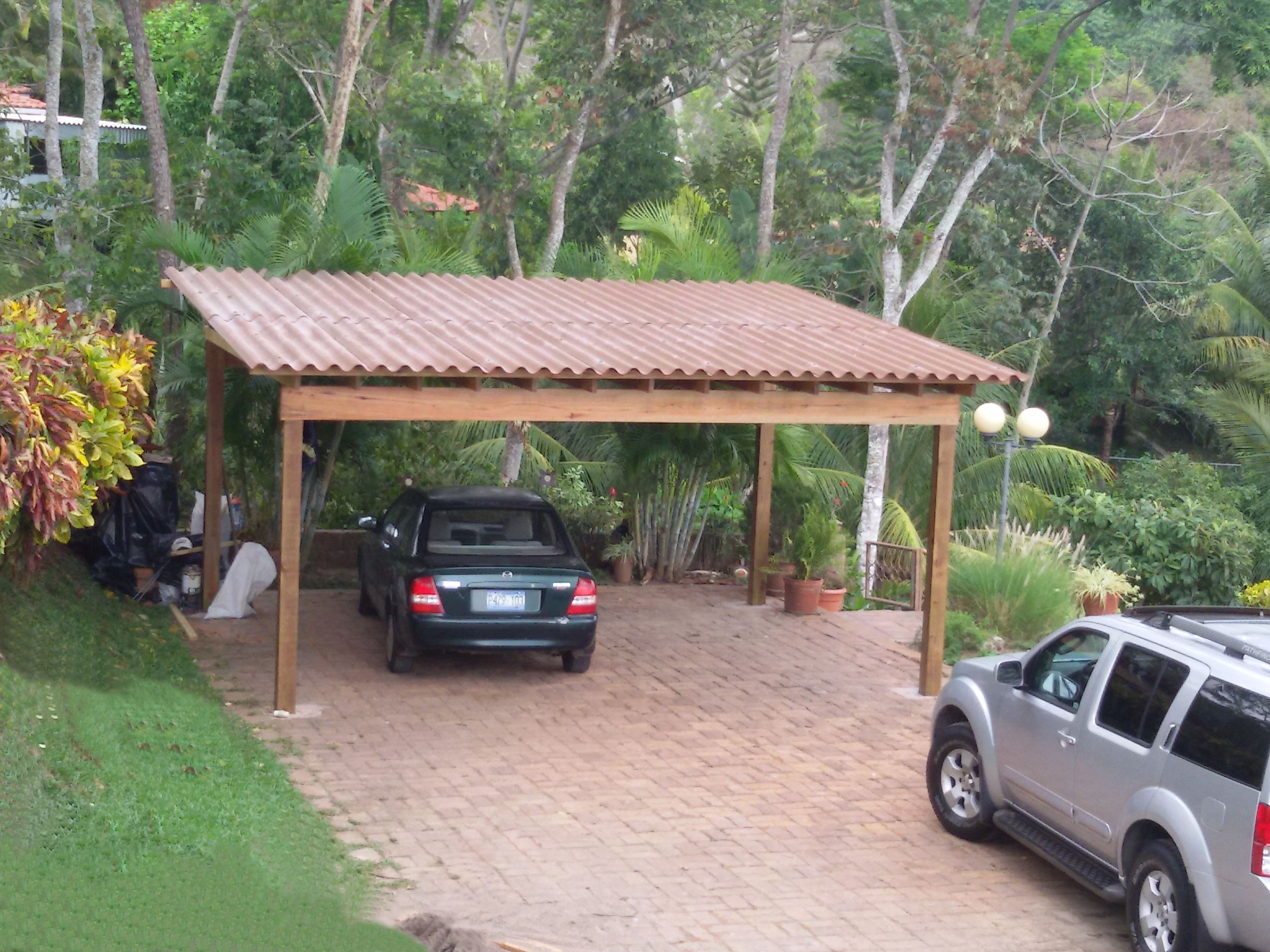Pergolas de madera rustica buscar con google casa for Terrazas rusticas techadas