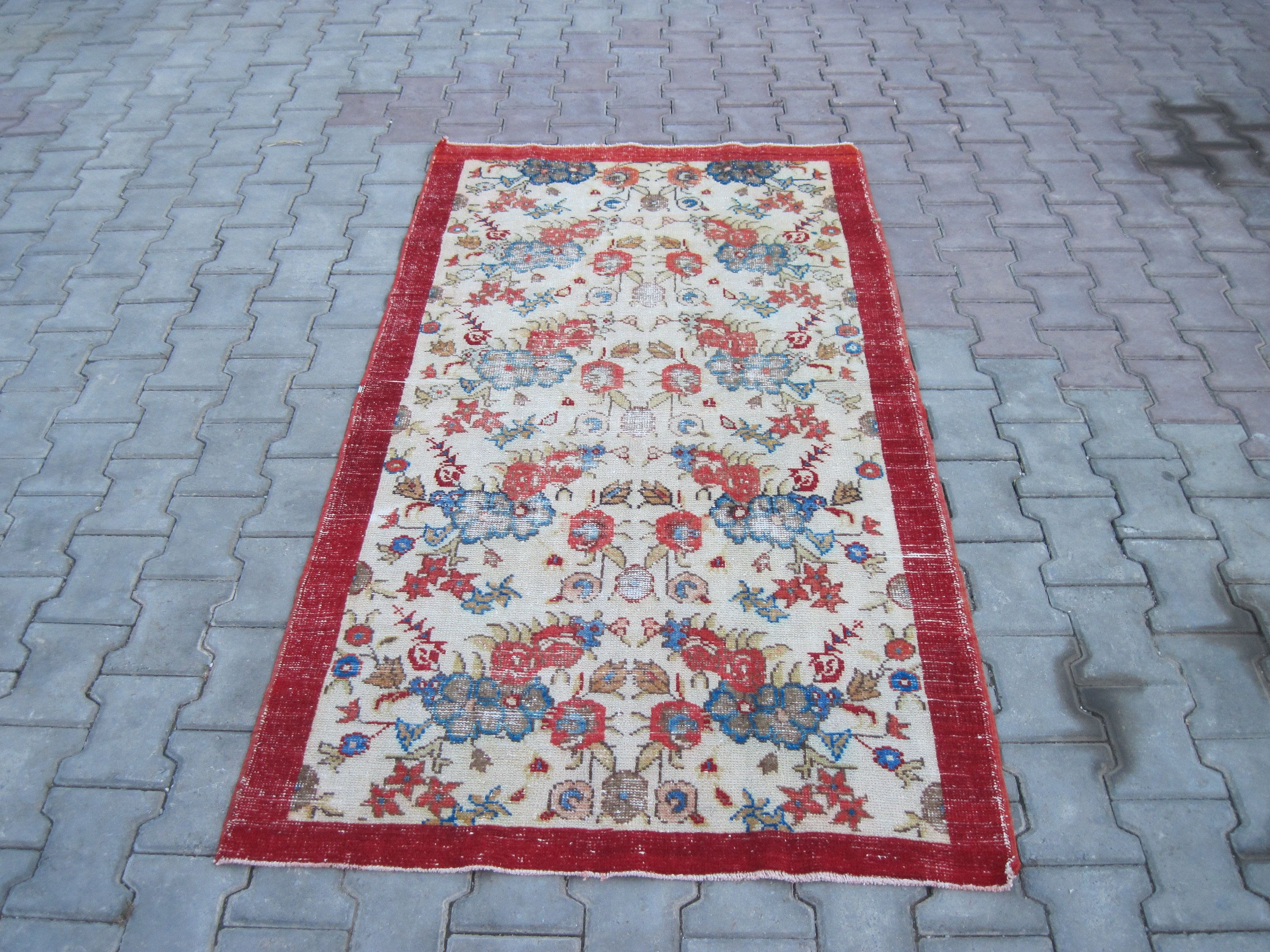 Runner Rug 3 4 X6 6 Feet 200x102 Cm Turkish