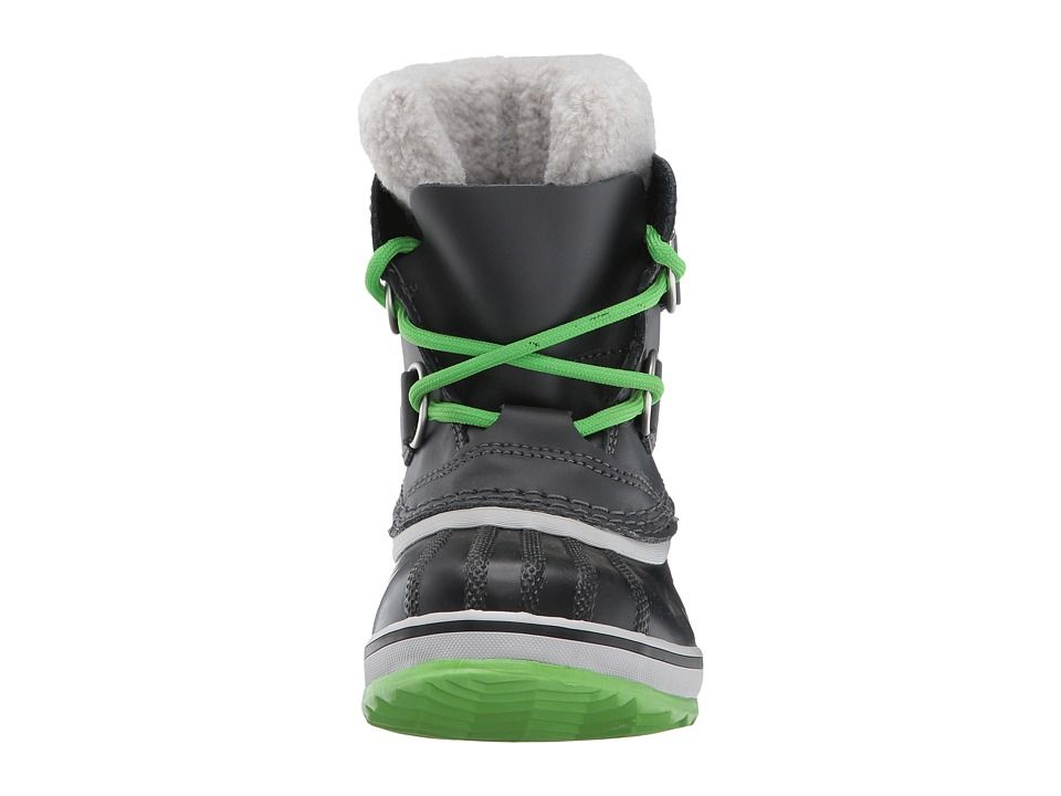 507aa36024d2 SOREL Kids Yoot Pac TP (Toddler Little Kid) Boys Shoes Shark Cyber Green