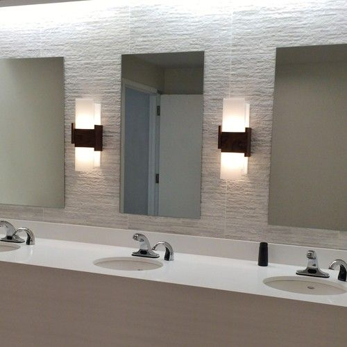 Acuo Led Wall Sconce Modern Bathroom, Contemporary Bathroom Sconces